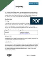 Factsheet Dyslexia Computing