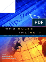 Who Rules the Net - Clyde Wayne Crews Jr and Adam Thierer (book cover and introduction)
