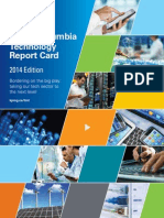 BC Technology Report Card 2014 Edition