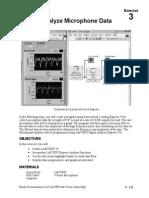 LWV 3 COMP Exercise Analyze Microphone