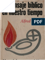 El Mensaje Biblico en nuestro tiempo. Lapple, Alfred.