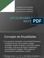 Diapositivas de Las Anualidades