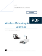 Wireless Data Acquisition in LabVIEW