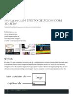 Imagem Com Efeito de Zoom Com JQuery _ William Luis