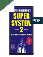 Doyle Brunson's Super System 2 - A Course in Power Poker PDF