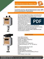Www.salcas.com.Br PDF Pressostato Digital Eletronico SPE PC