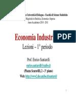 Economia Industriale Bo20102011santarelliprimo Periodo