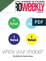 Metro Weekly - 10-30-14 - Election