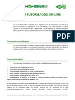 Cursos Tutorizados On