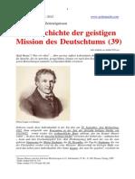 Zur Geschichte der geistigen Mission des Deutschtums