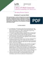 MMM kick-off research (Strategic Alliances, 2005)