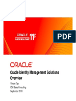 Oracle IDM Overview