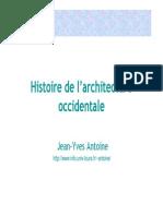 Histoire de l'architecture  occidentale