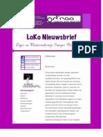 Nieuwsbrief Oktober 2014