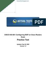 Cisco BGP 642-661