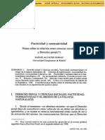 Alcácer, Rafael -Facticidad y Normatividad