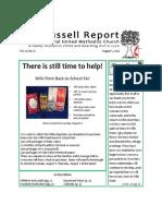Newsletter 8-1-14