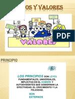 Diapositivas Principios y Valores