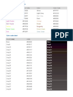 Kod Warna HTML