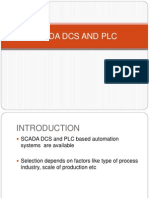 differance between scada plc and dcs
