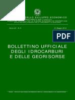Bolletino Ufficiale degli Idrocarburi