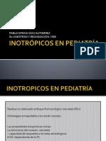 Inotropicos en Pediatria