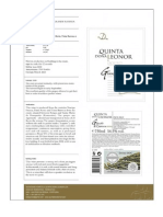 Quinta Dona Leonor Grande Reserva 2009 - Technical Sheet