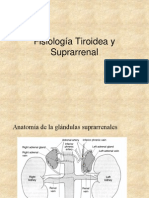 Fisiologia Tiroidea y Suprarrena