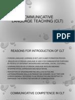 2  communicative language teaching clt