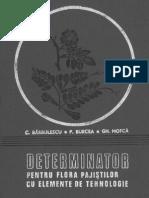 Determinator Pentru Flora Pajistilor Cu Elemente de Tehnice