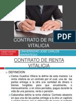 Contrato de Renta Vitalicia