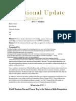 Vocational Newsletter #1 2014-15