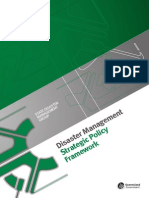 Disaster Management Strategic Policy Framework Introduction
