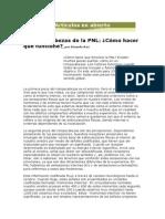 El Rompecabezas de La PNL-Cómo Hacer Que Funcione