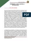 Fisica Experimental a Nivel Nacional e Internacional