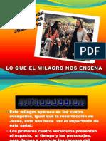 """MILAGROS DE JESUS N 6 """"LA MULTIPLICACION DE LOS PANES"""""""