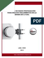 Estudio de Radio Propagacion en La Banda 5.9
