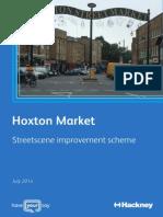 Hoxton Market Streetscene Improvement Scheme_Consultation 4pp A4 Leaflet_V2