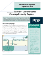 "EPA Pacific Coast Pipeline Superfund Factsheet, ""Construction of Groundwater Cleanup Remedy to Begin,"" October 2014"