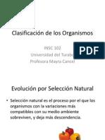 INSC 102-clase 5-Clasificación de los Organismos.pptx