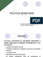 Uniunea Economica Si Monetara