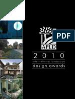 Landscape Design Awards Brochure