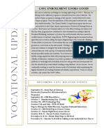 Vocational Newsletter #2 2014-15