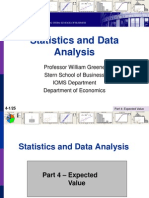 Statistics 4 ExpectedValue