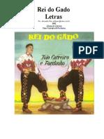 Tião Carreiro e Pardinho - Letras - 01 - Rei Do Gado - 1961