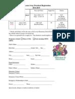 learnawaypreschoolregistration 2014-2015