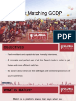 smart matching gcdp