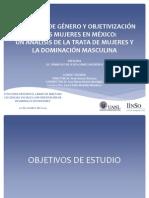 INEQUIDAD DE GÉNERO Y OBJETIVIZACIÓN DE LAS MUJERES EN MÉXICO