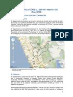 Huanuco-Caracterizacion SOCIO ECONOMICA