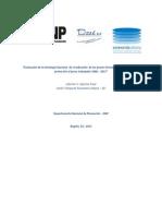 Evaluación de La Estrategia Nacional de Erradicación de Las Peores Formas Del Trabajo Infantil y Protección Al Joven Trabajador 2008 – 2015